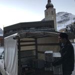 Neue Mittelschule Lech: Abholen von alten Computern