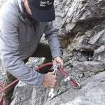 Neue Seile hängen