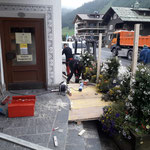 Rampenbau für Bürgerservice im Gemeindezentrum