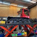Reparatur- und Servicearbeiten Pistenbully 100