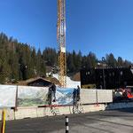 Baustellen-Sichtschutz anbringen GZL