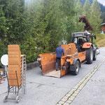 Stuhltransport für Arlberg Classic Car Rally
