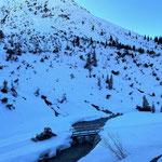 Snow Rabbit 3, Präparierung Winterwanderweg Zürs - Lech