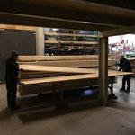 Holz einlagern Tischlereilager