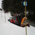 Burgwaldweg - Präparierung mit Holder C70 SC-W
