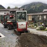 Wegebau am Friedhof