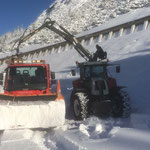 Splitt laden mit Traktor 6190 CVT auf U400