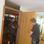 Umbau Heimatmuseum für Ausweichquartier Trachtenkapelle