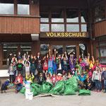 Müllsammelaktion mit der Volksschule - ERGEBNIS! Ein großer Dank an die Schüler der Volksschule Lech unter Dir. Gaby Jochum und Team, sowie den betreuenden Müttern! Super Arbeit Kinder!!