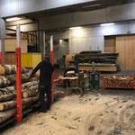 Grillholzproduktion am Bauhof