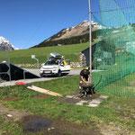 Trinkwasserbrunnen Fußballplatz reparieren