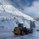 Lader 524, Bauhof Schneeräumung