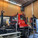 Windschutzscheibenreparatur Unimog 530