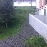 Rasenpfegearbeiten Betreutes Wohnen