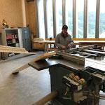 Vorbereitungen Geländer Spullerbachbrücke