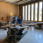 Reparatur Geländer ARA-Stollen-Eingang Oberstubenbach