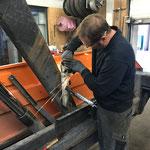 Containerhänger reparieren