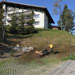 Rapid im Splitteinsatz am Omesberg
