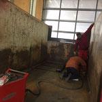 Schneekratzer Container für U530 montieren