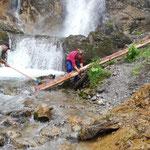 ....für Steg Wasserfallweg Zug