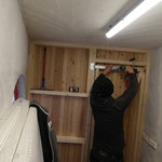 Reparaturarbeiten Holztüre Waldbad