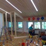 Haus des Kindes - Umbauarbeiten Dachboden