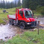 Materiallieferung Spullerbachweg neu, mit U400