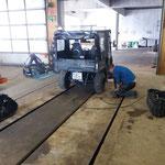 Pistenrettungsquad: Umbau auf Sommerbereifung für Wege