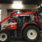 Gut Ding braucht Weile: der neue Traktor Kran ist da!