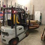Grüner Rätselring - Equipment am Bauhof verstauen