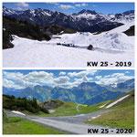 Schnee von gestern: Schneeräumung zur Balmenalpe, mit Lader 509 und Fräsaufbau