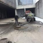 Kanalspülarbeiten Bauhof 2016
