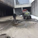 Kanalspülarbeiten Bauhof