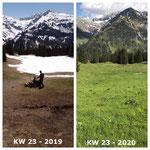 Schnee von gestern: Ortsverschönerung in Oberlech 2019