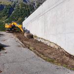 Anlegen Blumenerde-Deponie am Bauhof