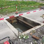 Weiderost Neu-Unterbau Markbach