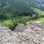 Unwetterschäden Wasserzügeweg Lech-Wiesele