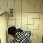 Putzdienst am Bauhof