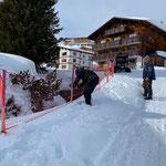 Zaun stellen Gipsbach Oberlech