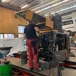 Service Fräsmotor Lader 509