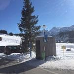 Grüner Ring Wartehütte Zug