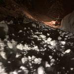 Nächtliche Hangrutschung Richtung Oberlech
