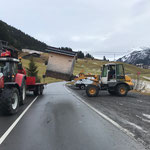 Hütten stellen in Zug