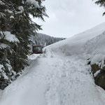 Wanderweg Stubenbach - Lech abschieben