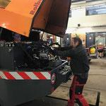 Neue Hydraulikpumpe einbauen Rolba 1500