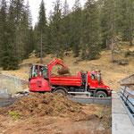 Bauhofdach adaptieren für Befahrung und Lagermöglichkeiten