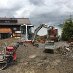Wegebau Oberlech, Sanierung Hotel Salome - Hotel Mohenfluh - Goldener Berg