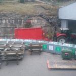 Grünschnitt einfassen Bauhof