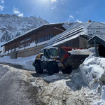 """Schneeräumung für Parkplätze """"Don Enzo"""""""