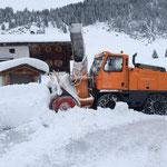 Rolba 1500 im Einsatz in Zug